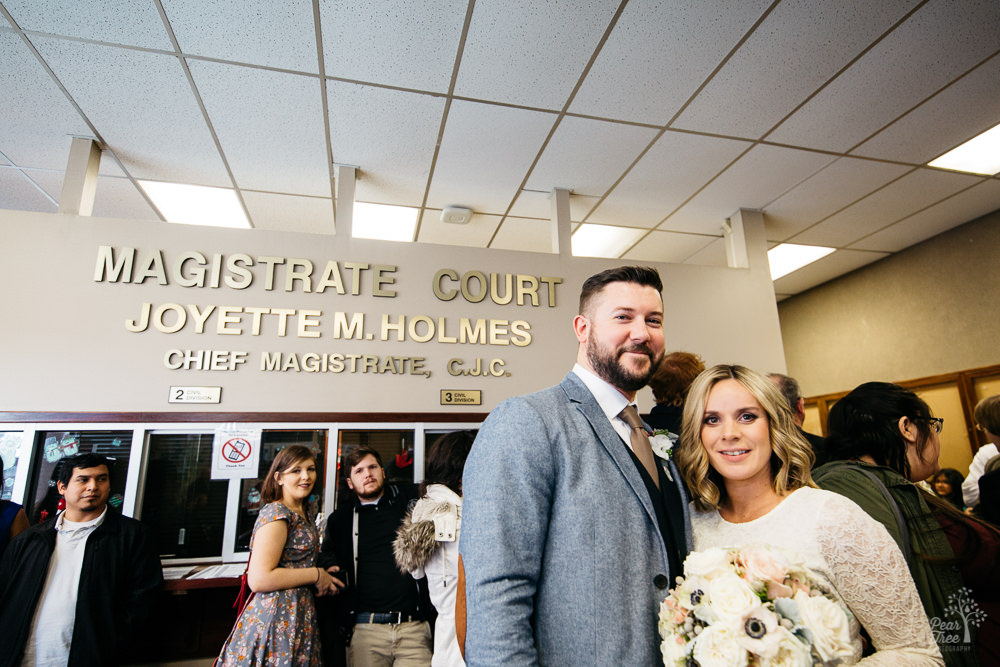 Marietta GA Courthouse Wedding - Charlotte + Andy Are Married!
